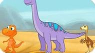 Игра Поезд Динозавров: Водопой