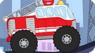 Игра Поездка На Пожарной Машине