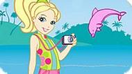 Игра Полли Покет: Шоу Дельфинов