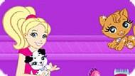 Игра Полли Покет: Спа-Салон Для Животных