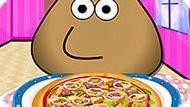 Игра Поу Готовит Пиццу