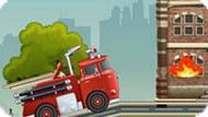 Игра Пожарная Машина Тушит Пожар