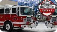 Игра Пожарная Машина Зимой 2