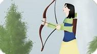 Игра Принцесса Мулан: Лук И Стрелы