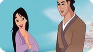 Игра Принцесса Мулан: Поцелуй Принца