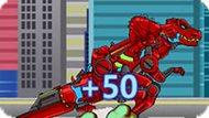 Игра Прыжки Роботов Динозавров