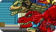 Игра Прыжки Роботов Динозавров 2