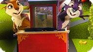 Игра Реальная Белка: Гонки На Тележке