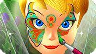 Игра Рисунок На Лице Динь-Динь