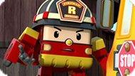 Игра Робокар Поли: Роботрак Рой