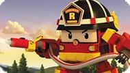 Игра Робокар Поли: Рой Тушит Пожар