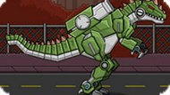 Игра Робот Динозавр Гиганотозавр