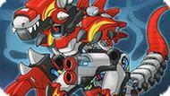 Игра Робот Динозавр Истребитель