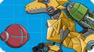 Игра Робот Динозавр Мегалозавр