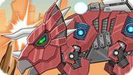 Игра Робот Динозавр Трицератопс