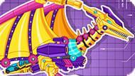 Игра Роботы Динозавры: Боевой Птеродактиль