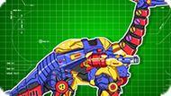 Игра Роботы Динозавры: Брахиозавр