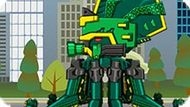 Игра Роботы Динозавры: Древний Осьминог