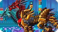 Игра Роботы Динозавры: Двухголовый Дракон