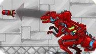 Игра Роботы Динозавры: Крепость
