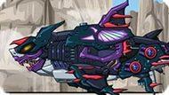 Игра Роботы Динозавры: Мегалодон