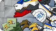 Игра Роботы Динозавры: Найди Детали