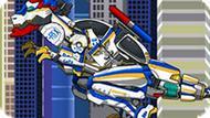 Игра Роботы Динозавры: Полицейский Т-Рекс