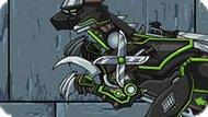 Игра Роботы Динозавры Приключения: Ниндзя Велоцираптор