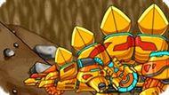 Игра Роботы Динозавры Приключения: Золотой Стегозавр
