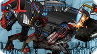 Игра Роботы Динозавры: Ремонт Мегалозавра
