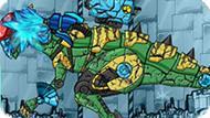 Игра Роботы Динозавры: Ремонт Стегозавра