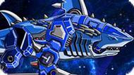 Игра Роботы Динозавры: Робот Акула