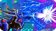 Игра Роботы Динозавры: Робот Леопард