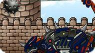 Игра Роботы Динозавры: Сколозавр