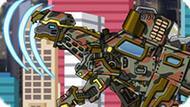 Игра Роботы Динозавры: Скутеллозавр