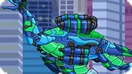 Игра Роботы Динозавры: Собирать Плезиозавра