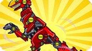 Игра Роботы Динозавры: Собирать Супер Роботов
