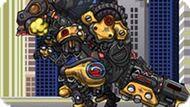 Игра Роботы Динозавры: Собирать Т-Рекс Терминатора
