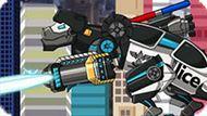 Игра Роботы Динозавры: Тарбозавр Полицейский