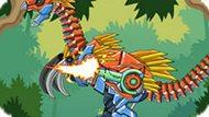 Игра Роботы Динозавры: Теризинозавр