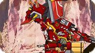 Игра Роботы Динозавры: Трицеранодон