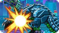 Игра Роботы Динозавры: Велоцираптор