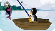 Игра Рыбалка Пингвина