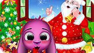 Игра Санта У Малыша Тото