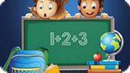 Игра Школа Для Детей: Математика