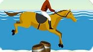 Игра Скакать На Лошади По Пляжу