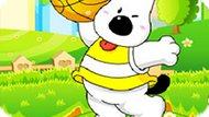 Игра Снупи Баскетбол