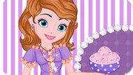 Игра София Прекрасная Готовит Розовое Мороженое