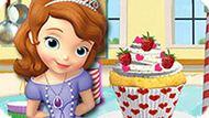 Игра София Прекрасная: Кексы На День Рождения