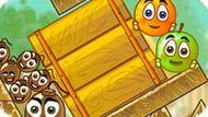 Игра Спаси Апельсин: Новые Уровни